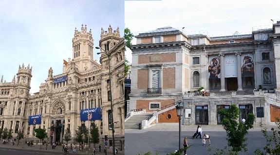 【午前】プラド美術館入場! マドリード市内見どころ巡りと欲張り市場散策