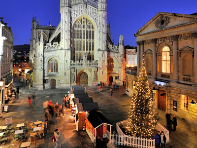 [みゅう]英国2大クリスマスマーケット巡り バースとウィンチェスター