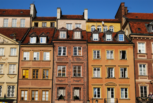 世界遺産ワルシャワ歴史地区を訪ねる半日ワルシャワ観光