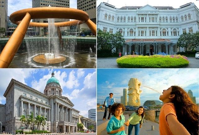 【シンガポール】半日市内観光ダイジェスト 選べるローカルフードランチ付き
