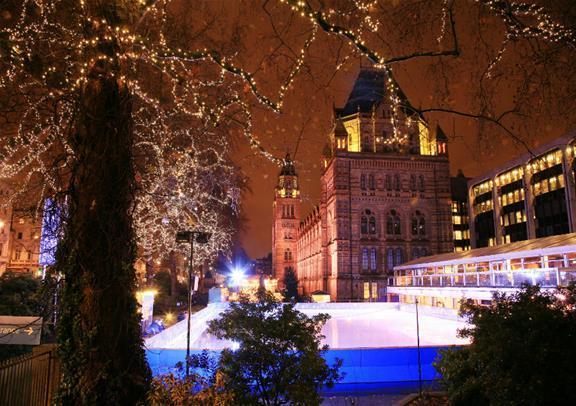 12月24日限定:ロンドンでのクリスマス・イブ(夕食と真夜中のミサ付き)(英語)