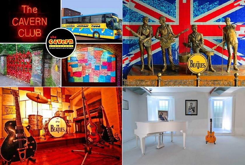 ビートルズとリバプール(マジカル・ミステリー・ツアー、ビートルズ・ストーリー・ミュージアムとキャバーン・クラブ)