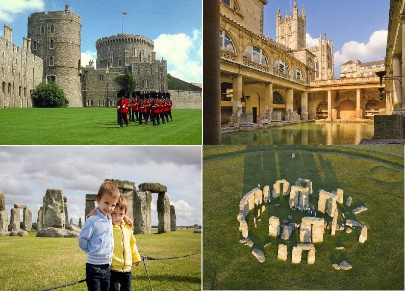 世界遺産を2ヵ所訪れる! ストーンヘンジ、ウィンザー城とバース・英語