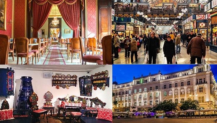 オペラ座と老舗カフェ・ジェルボー、中央市場を巡る芸術とグルメのブダペスト半日観光ツアー<午後>