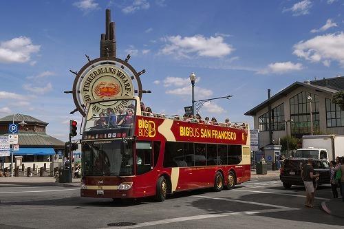 オープントップ乗り降り自由 観光バスチケット・BIG BUS/HOP ON-HOP OFF