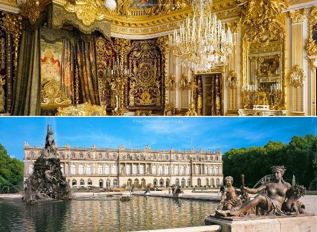バイエルンのベルサイユ宮殿、ヘレンキームゼー城