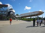 あのスペースシャトルの発射台を見よう!ケネディ宇宙センター・ツアー
