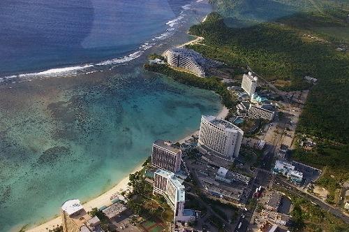 【遊覧飛行】グアム島一周飛行(飛行時間約61分)