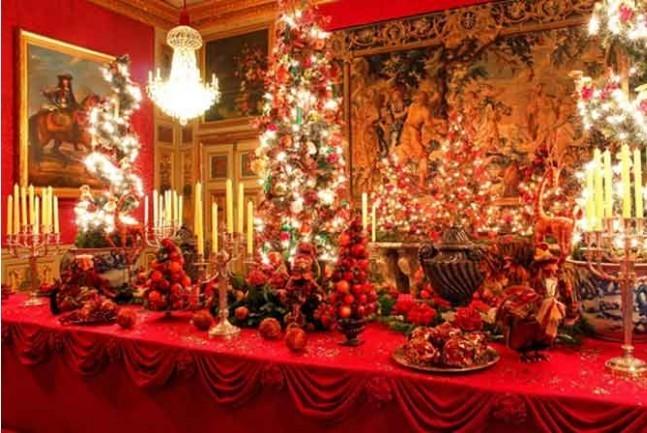 ヴォー・ル・ヴィコント城でクリスマス