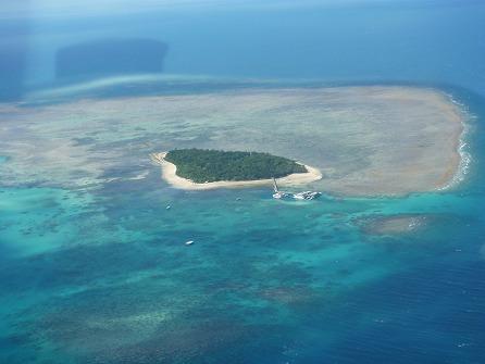 セスナ機 グレートバリアリーフ遊覧飛行 グリーン島&アーリントンリーフコース シーイーグル 30分間