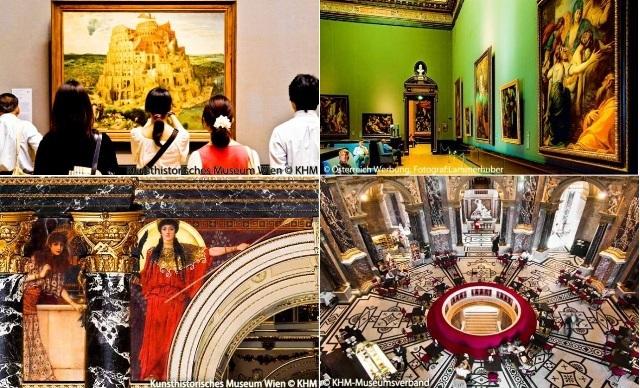 ウィーン美術史美術館観光(ハプスブルク家が収集した美術品にふれる)