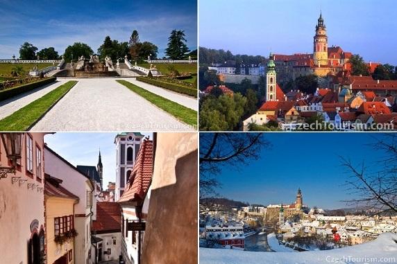 世界で一番美しい町 チェスキー・クルムロフ1日観光<フリータイム、日本語ガイドなし/昼食付>