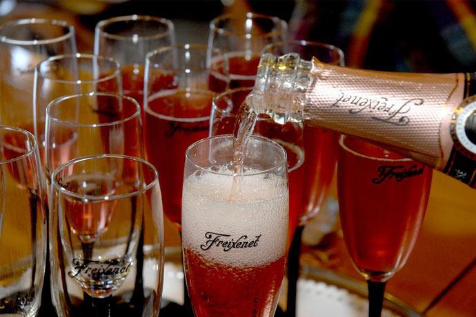 スパークリングワイン「カバフレシネ」酒造見学+試飲午前ツアー(観光ガイド付)