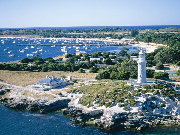 ロットネスト島の灯台