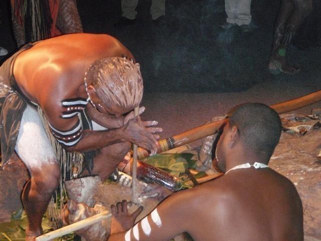 火興しの儀式