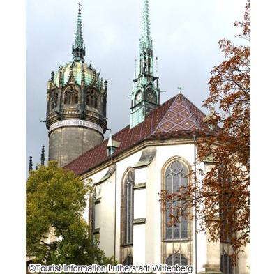 「95ヶ条の論題」が貼り出された城教会