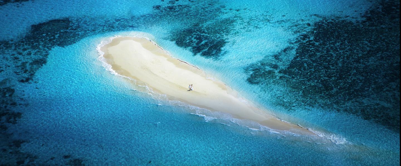 サンディーケイの周りは珊瑚が沢山あり、シュノーケルもお楽しみ頂けます。