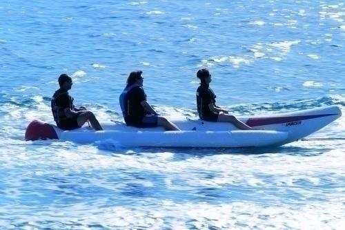 マリナクティビティーの定番バナナボート