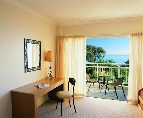 ホテルルーム客室からの眺め