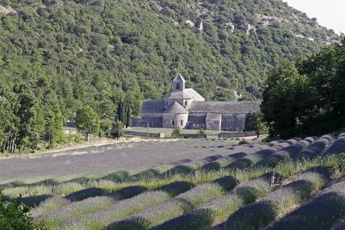 12世紀にシトー派の修道院として建てられたセナンク修道院