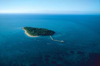 空からのグリーン島