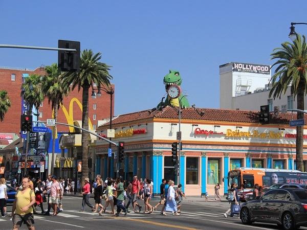 ハリウッドのメイン通り