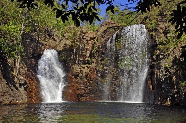 リッチフィールド国立公園のフレーレンス滝