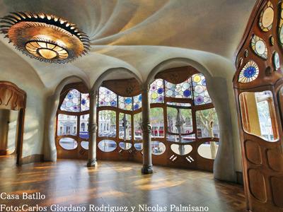 内部のデザインも楽しいカサ・バトリョ