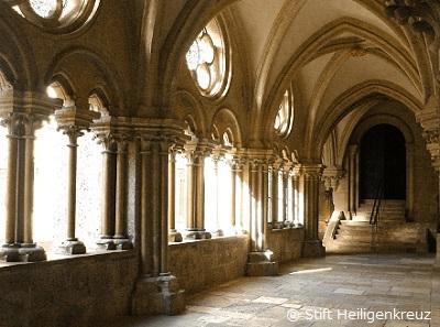 ハイリゲンクロイツ修道院回廊
