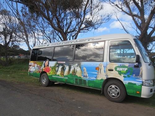BUNYIP TOURS社のバス