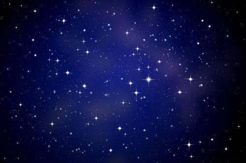 星空見学も