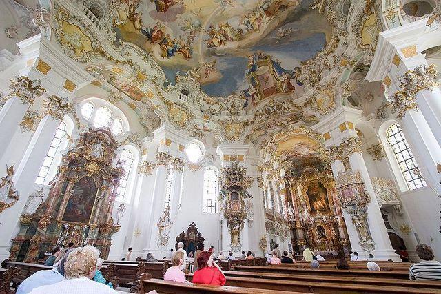 世界遺産ヴィース教会