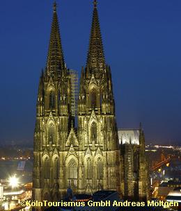 荘厳なケルン大聖堂