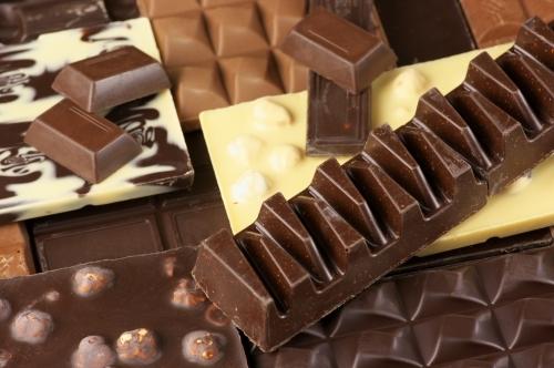 チョコレートの試食もあります!