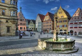 「中世の宝石箱」と呼ばれる街