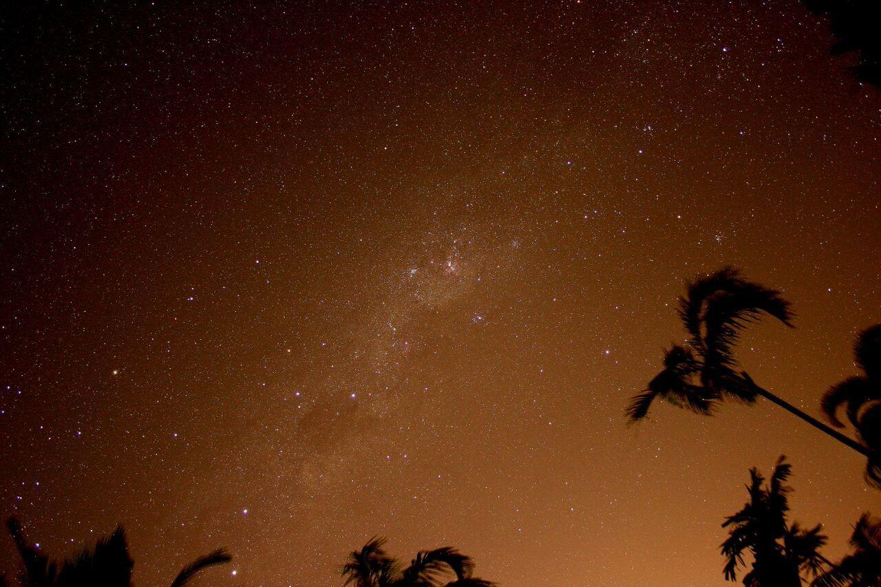 星空観測では南十字星が見れるかも