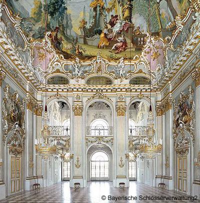 ロココ様式の大広間