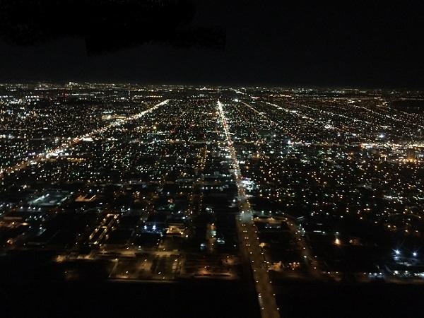 LAでしか見れない、ひろぉい夜景!!
