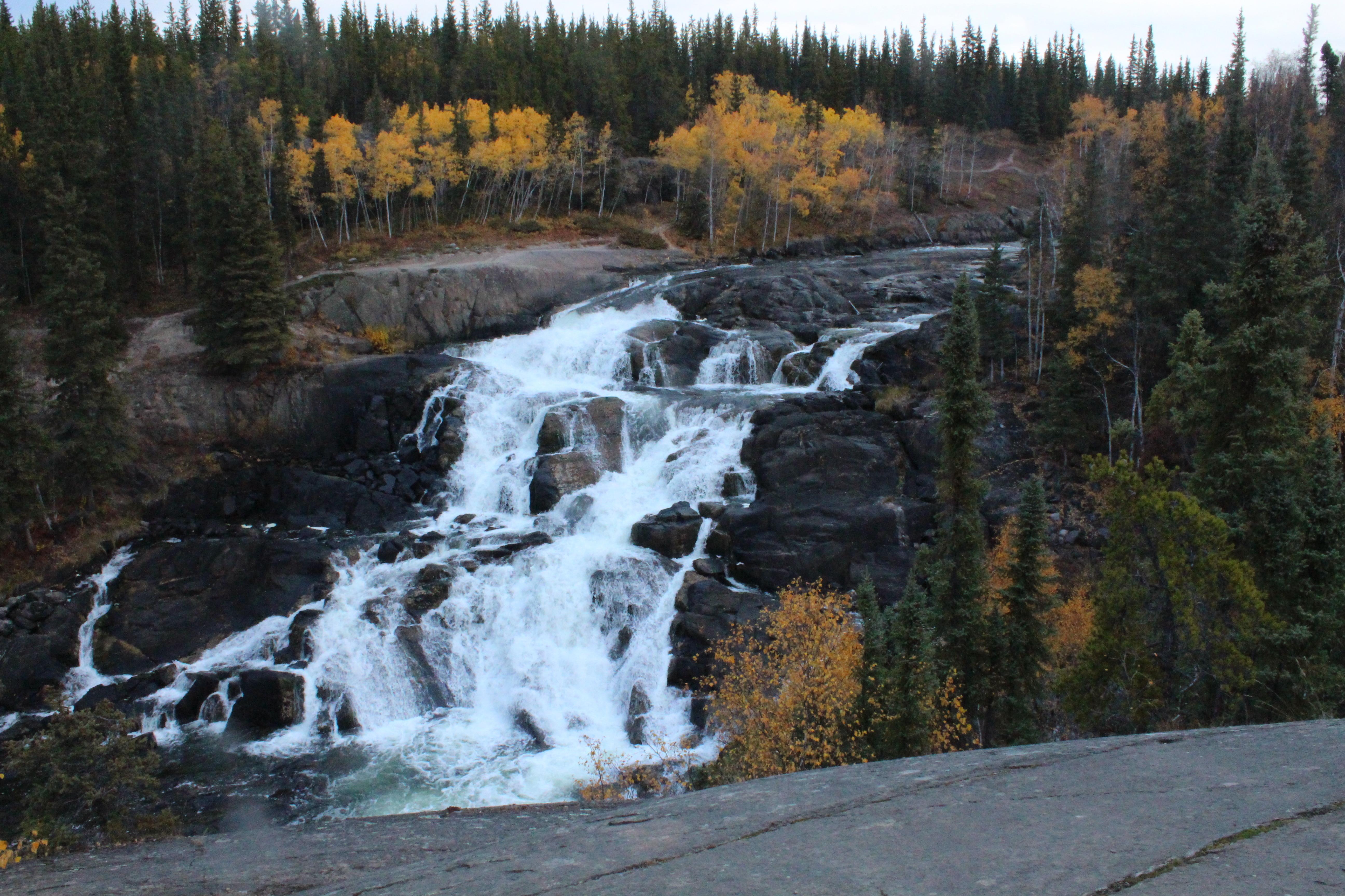美しいキャメロン滝(オプショナルツアー)