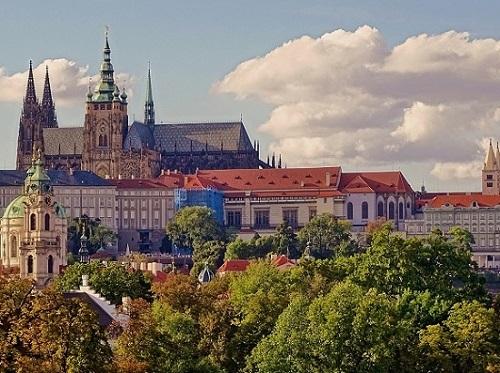 プラハ城と聖ヴィート大聖堂
