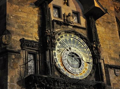プラハ旧市街の天文時計