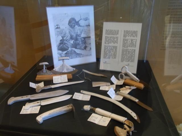 ノースウェスト準州議事堂にはこんな歴史を感じる展示物も