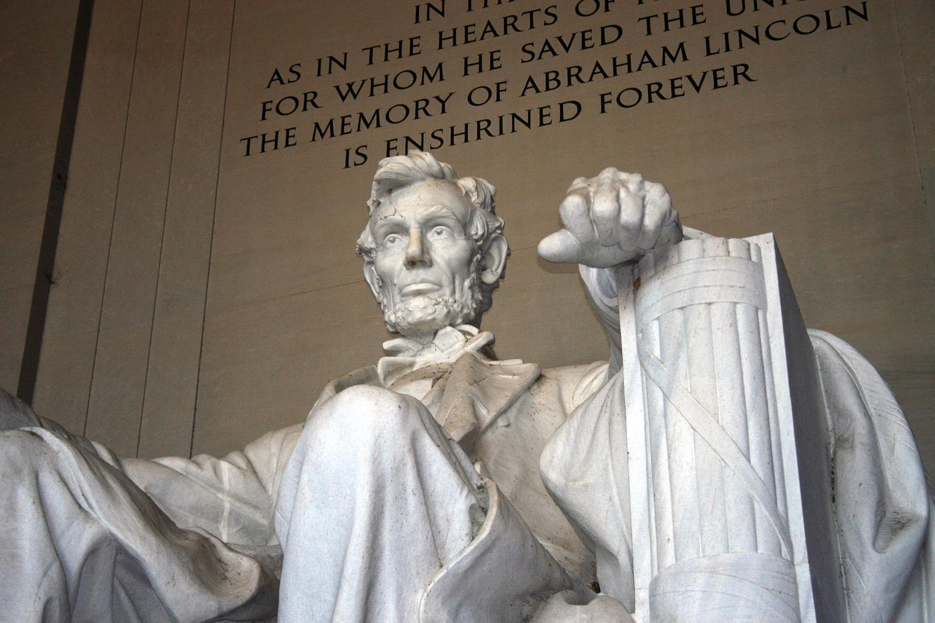 ワシントンDC・リンカーン記念堂