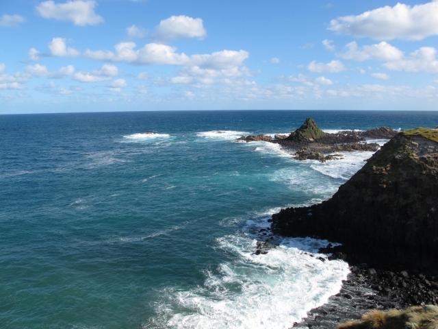 フィリップ島の海岸線