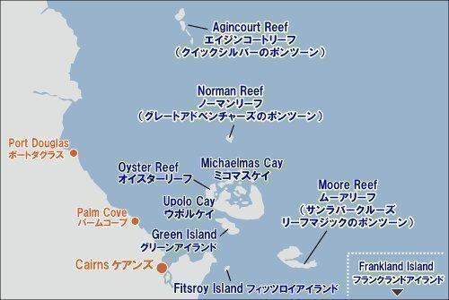 フィッツロイ島の場所を示す地図