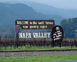 ナパバレー到着!