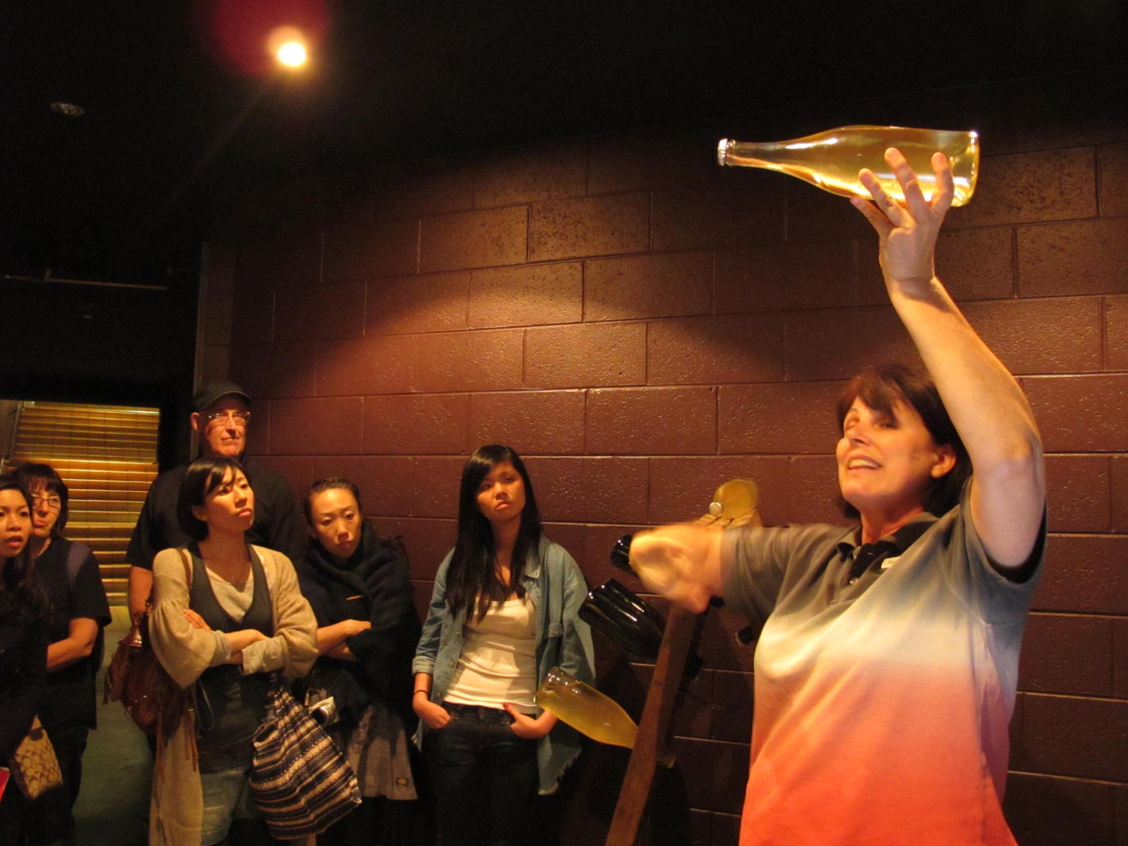 スパークリングワインがどのように発明されたか聞きましょう