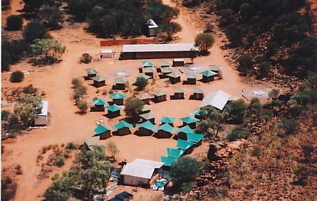キングスキャニオン常設キャンプ場
