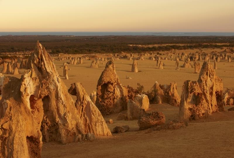 ピナクルズ砂漠