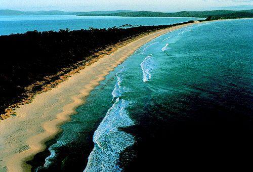 ブルーニー島一番の見晴らしザ・ネック